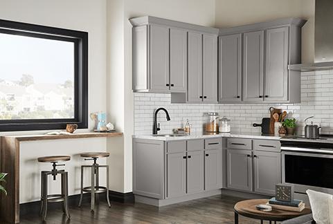 Shaker Grey Kitchen